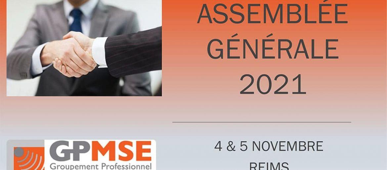 GPMSE Assemblée générale du 4 et 5 novembre 2021